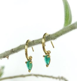 ILA Kinsley Emerald Earrings