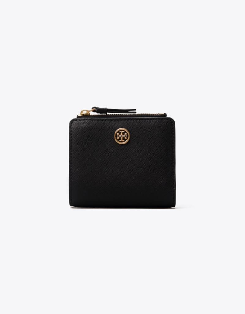 TORY BURCH Robinson Mini Wallet - Black
