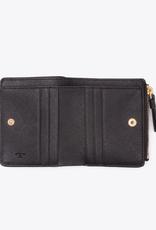 TORY BURCH Robinson Mini Wallet - Black