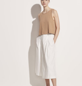 VINCE Cropped Swing Tank - Dune
