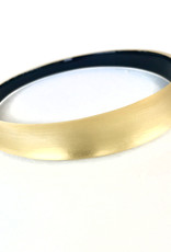 ALEXIS BITTAR Skinny Tapered Bangle - Gold