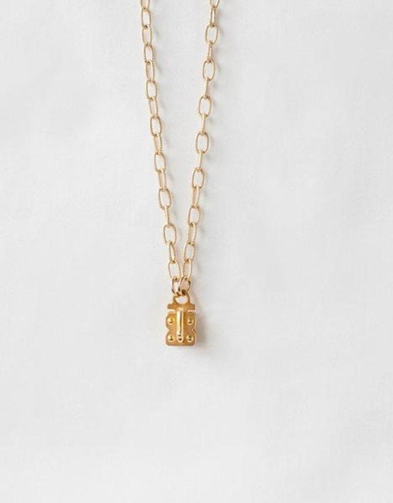"""SENNOD Matte Vignette Chain - Gold 18"""""""