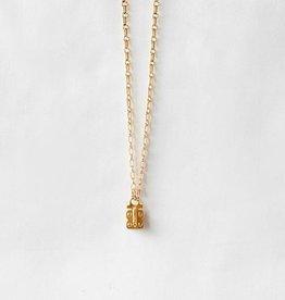 SENNOD Link Vignette Chain - Gold 20''