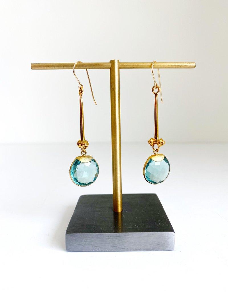 SENNOD Mod Spring Quartz with Tullia Earrings