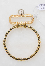 SENNOD TRUNK SHOW Bead Ring with Remy Diamond Oval Vignette