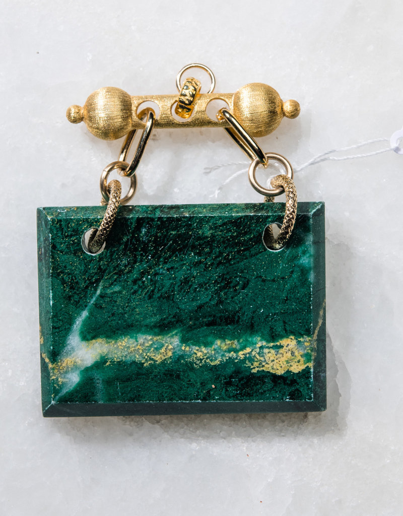 SENNOD African Jade on Baron Barr Vignette