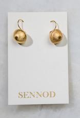 SENNOD Dangle Ball Earrings