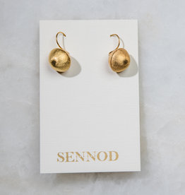 SENNOD Dangle Ball Earrings