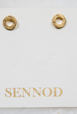 SENNOD Remy Circlet Post Earrings