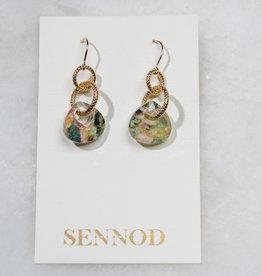 SENNOD TRUNK SHOW Mohave Tourmaline Teardrop Earring