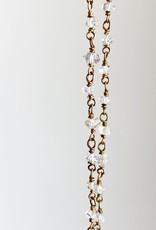 "SENNOD 40"" Herkimer Diamond Necklace"