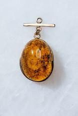 SENNOD Golden Green Amber Vignette