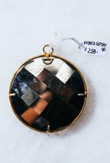 SENNOD Pyrite Ring Vignette - 40mm