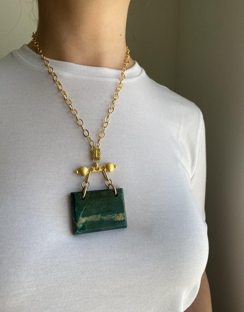 SENNOD TRUNK SHOW African Jade on Baron Barr Vignette