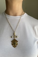 SENNOD Vintage Medal on Baron Barr Vignette
