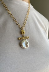 SENNOD TRUNK SHOW Coin Pearl on Remy Diamond Bar Vignette
