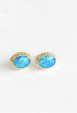 JAMIE JOSEPH Australian Opal Post Earrings