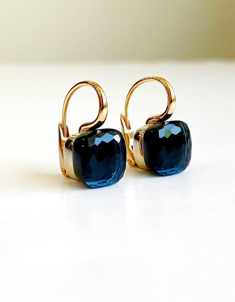 POMELLATO London Blue Topaz Nudo Earring