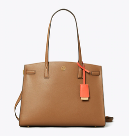 TORY BURCH Walker Satchel - Moose