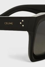 CELINE 40130 Square - Black Polarized/Gradient Lens