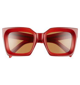 CELINE 40130I Red Square with Amber lens