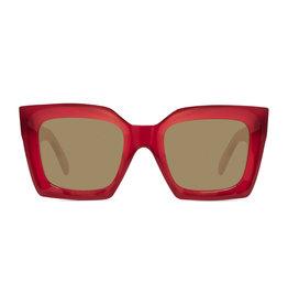 CELINE 40130 Square - Red/Amber Lens
