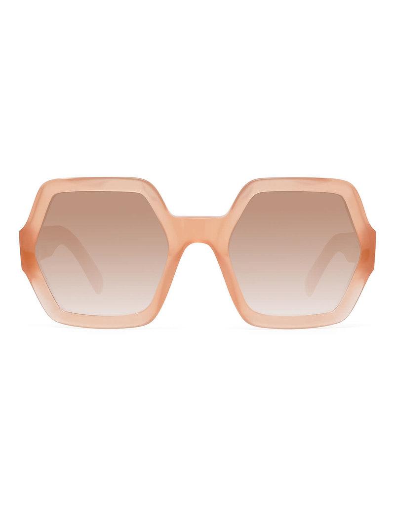 CELINE 40131 Oversized Hexagon - Shiny Pink