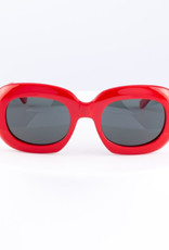 CELINE 40070 Oversized Oval - Red