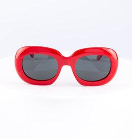 CELINE 40070 Oversized Oval - Red