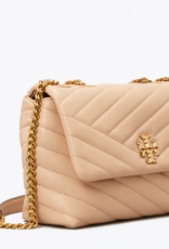 TORY BURCH Kira Chevron Small Convertible Shoulder Bag - Devon Sand