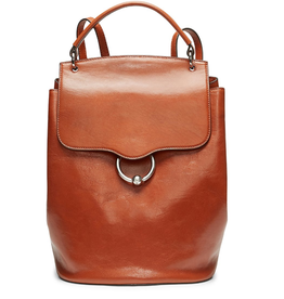 REBECCA MINKOFF Kate Flap Backpack - Acorn