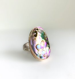 JAMIE JOSEPH Asymmetrical Abalone Ring