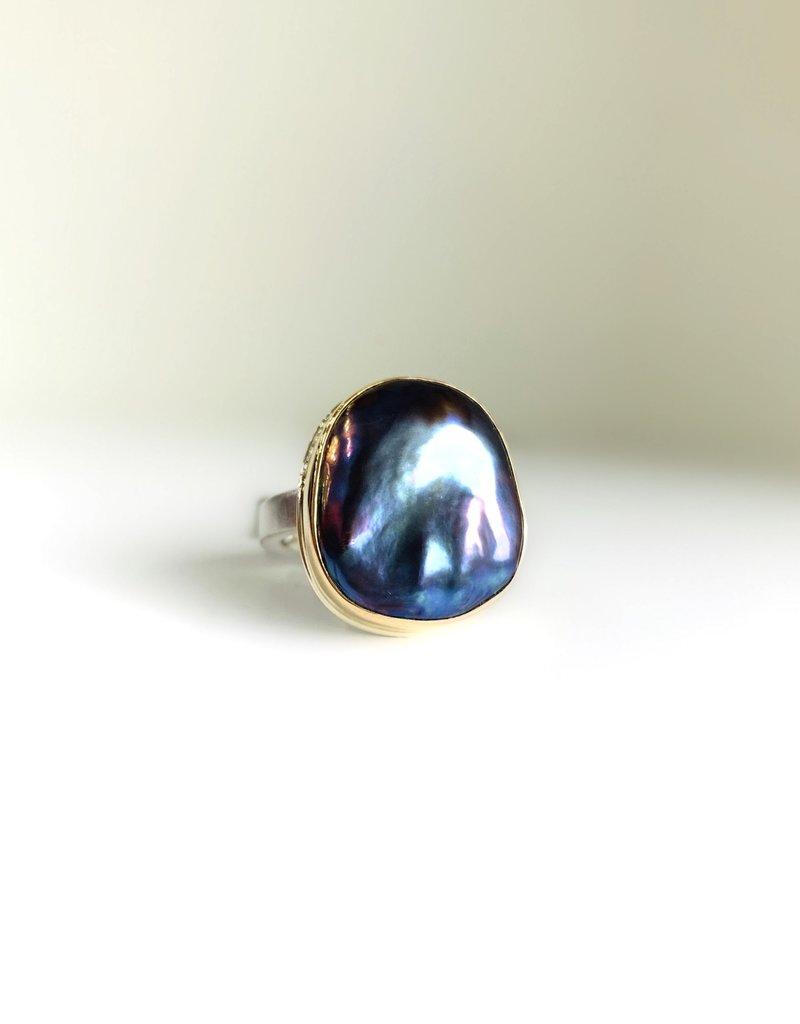 JAMIE JOSEPH Peacock Pearl Ring