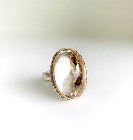 JAMIE JOSEPH Inverted Morganite Ring