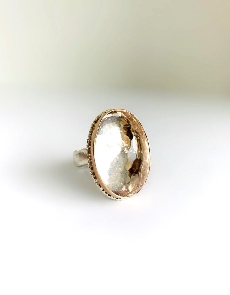 JAMIE JOSEPH Inverted Morganite Ring