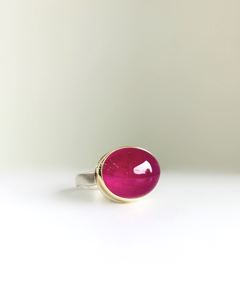 JAMIE JOSEPH Smooth African Ruby Ring