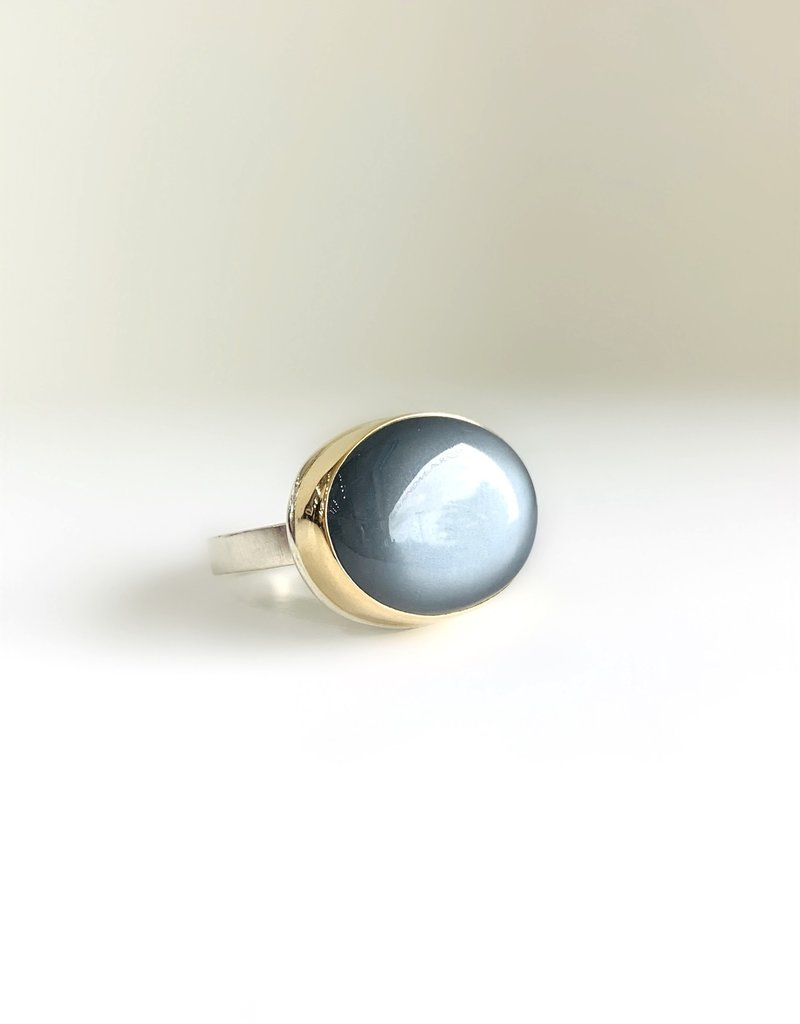 JAMIE JOSEPH Grey Moonstone Ring