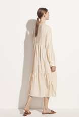 VINCE Tiered Longsleeve Dress - Naples Sun
