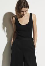 VINCE Scoopneck Ribbed Bodysuit -