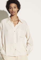 VINCE Boxy Button Down - Fennel