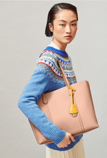 TORY BURCH Perry Triple Compartment Tote - Pink Moon