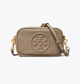 TORY BURCH Perry Bombe Mini Bag - Gray Heron