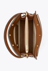 TORY BURCH Lee Radziwill Small Double Bag - Tiramisu