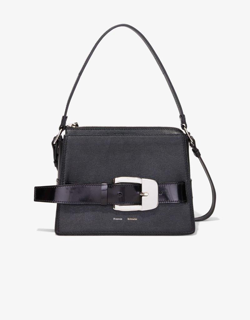 PROENZA SCHOULER Large Buckle Zip Bag - Black
