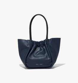 PROENZA SCHOULER L Ruched Tote - Smooth Calf Dark Navy