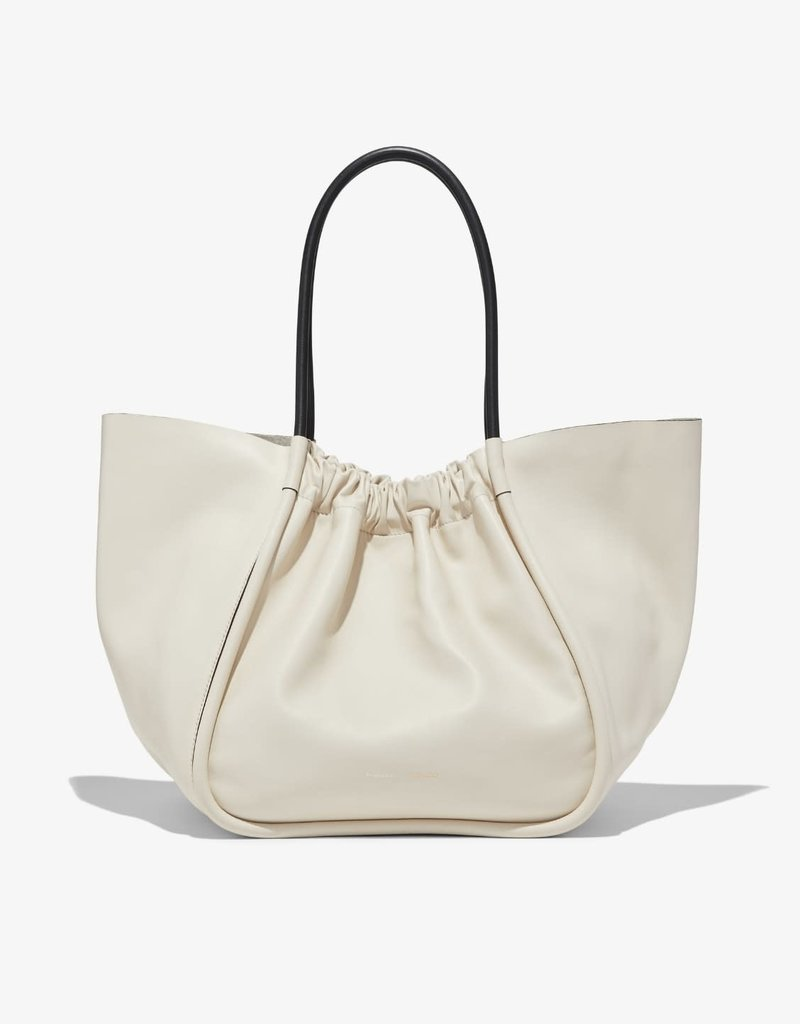 PROENZA SCHOULER XL Ruched Tote - Smooth Calf Clay