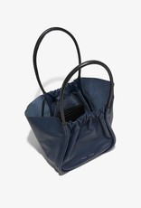 PROENZA SCHOULER XL Ruched Tote - Smooth Calf Dark Navy