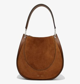 PROENZA SCHOULER Large Hobo - Suede Chocolate