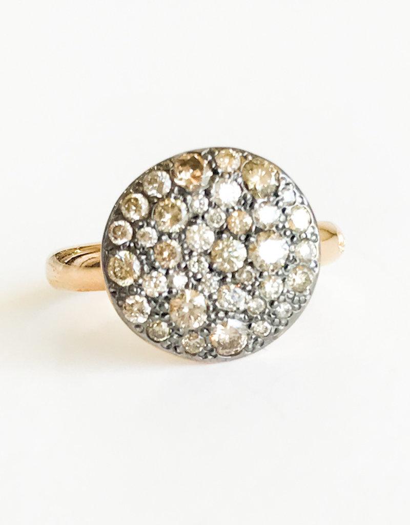 POMELLATO Brown Diamond Sabbia Ring