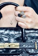 POMELLATO White Diamond Sabbia Ring